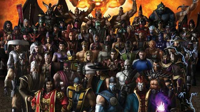 Los luchadores de Mortal Kombat se preparan para una mudanza.
