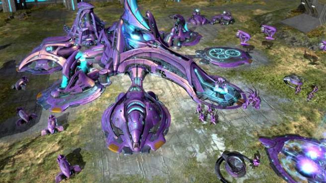 Halo Wars, un juego de estrategia de sencillo control.