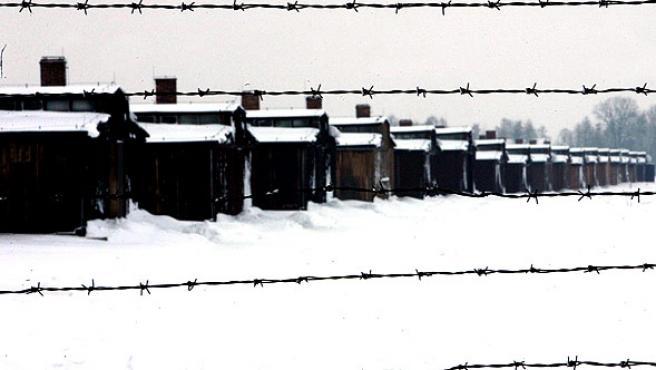Imagen de un campo de concentración nazi en Polonia. (ARCHIVO).