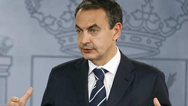 El presidente del Gobierno, José Luis Rodríguez Zapatero. (Paco Campos / EFE).