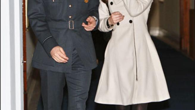 El príncipe Guillermo y Kate Middleton, en una foto de archivo.