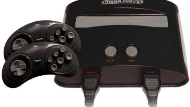 La consola Sega Mega Drive de Blaze.