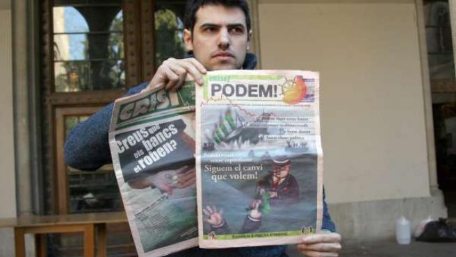 Enric Duran estuvo seis meses desaparecido.