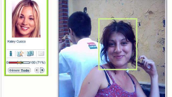La web compara tus fotos con las de multitud de famosos.