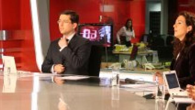 Entrevista a Juan Vicente Herrera en Televisión Castilla y León.