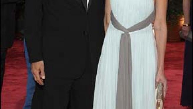 Harrison Ford y Calista Flockhart.
