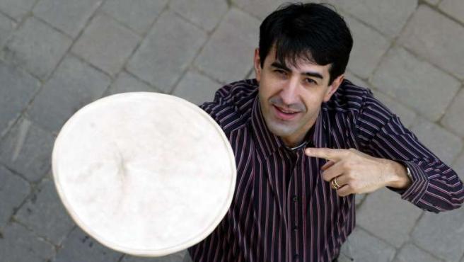 Martín ha sido campeón del mundo y de Europa en elaboración y acrobacias con pizzas.
