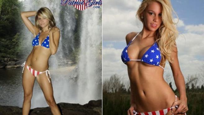 'Florida' y 'Alabama', dos de las 38 mujeres-estado que promocionan los valores USA.