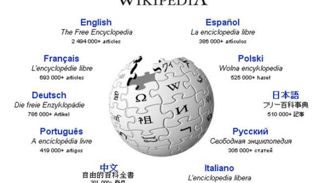 Captura de la página web de Wikipedia.