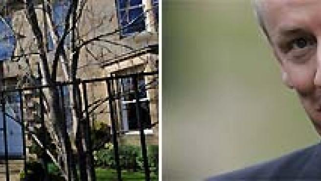 La casa de Fred Goodwin sufrió daños en ventanas y vehículos.