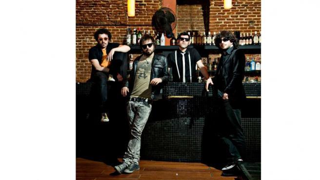 El cuarteto madrileño compuesto por Manu, Gerbas, Ruly y Juancho.