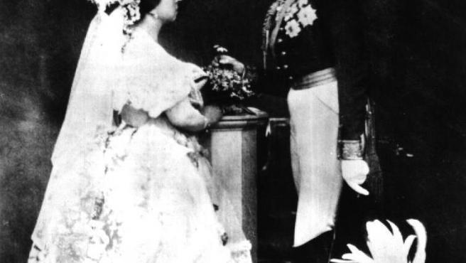 Boda de la reina Victoria I de Inglaterra.