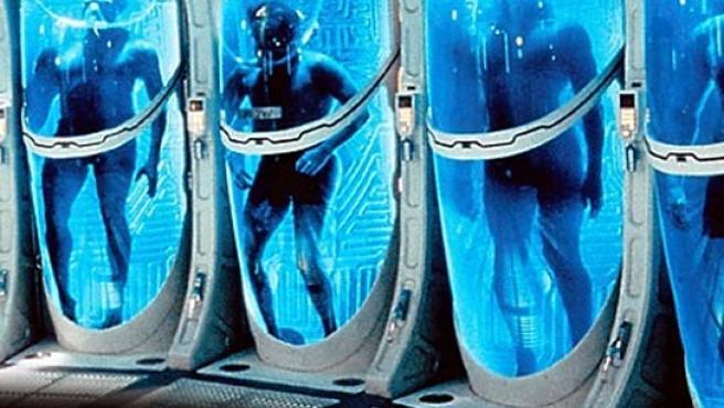 Recreación de una sala de criogenización.
