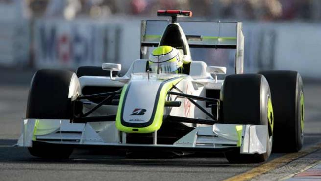 Jenson Button en el GP de Australia.