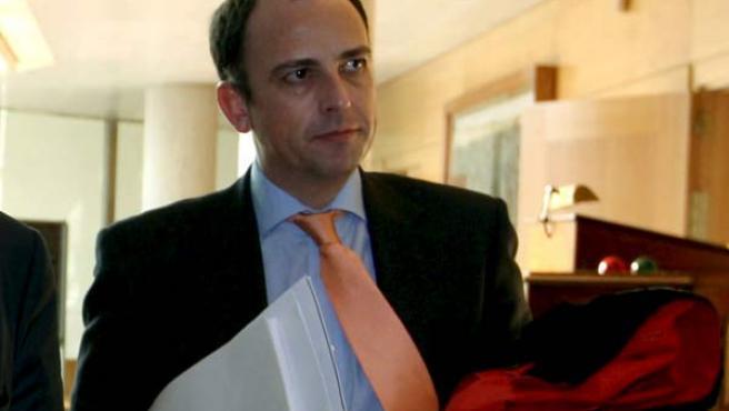 Martín Vasco ha dimitido como portavoz adjunto de la Asamblea de Madrid.