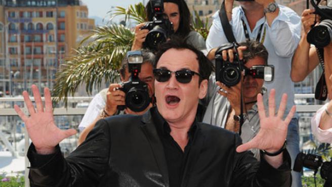 Quentin Tarantino en el pasado Festival de Cannes.
