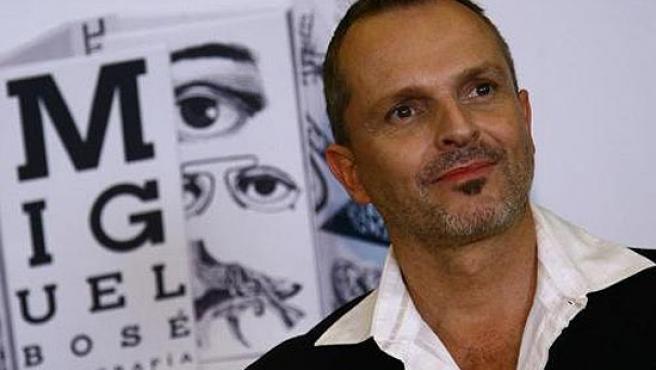 Miguel Bosé, en una imagen de archivo.