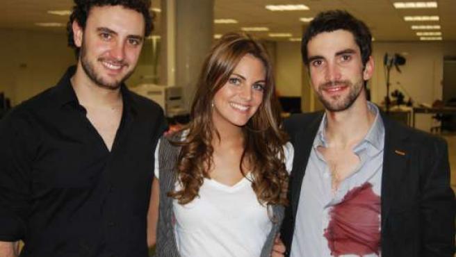 Amaia Salamanca, actriz invitada en 'Becari@s'. (TELECINCO)