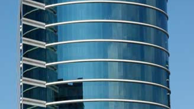 Fotografía de un edificio de Oracle.