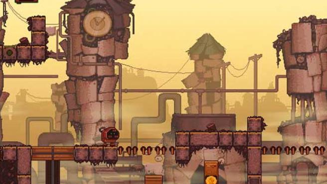 Pantalla del videojuego Rustyard.