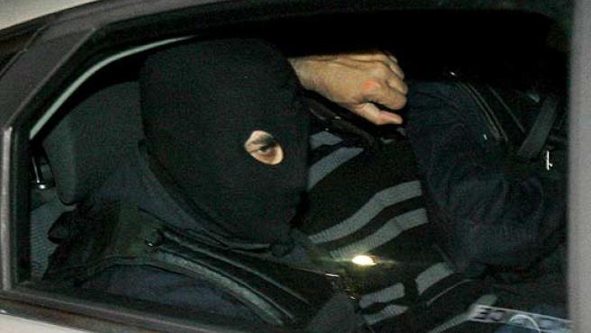 Jurdan Martitegi, trasladado a París por la Policía.