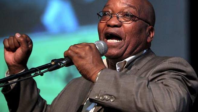 El candidato del CNA, Jacob Zuma intenta revalidar el Gobierno.