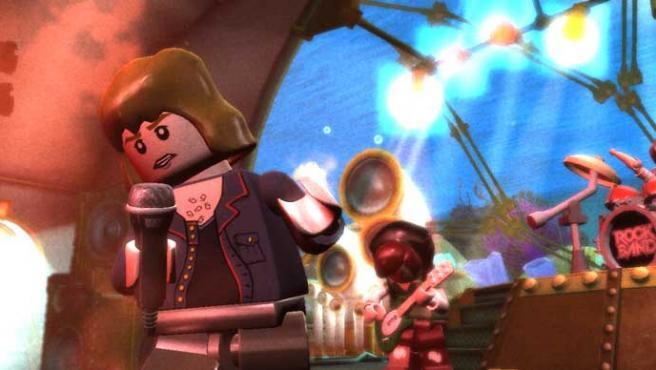 Lego Rock Band saldrá para PS3, Xbox 360, Wii y Nintendo DS.