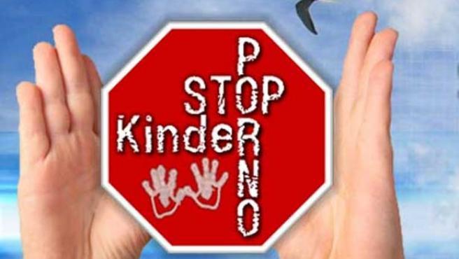 Captura de la web 'stopkinderporno', bloqueada en Bélgica.