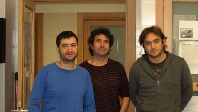 Juan Ignacio Aguiló, Alberto Anel y Julián Pardo son bioquímicos.