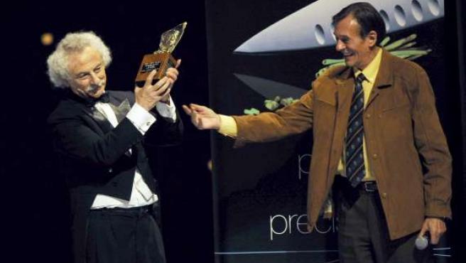 Rafael Alvarez 'El Brujo' recoge el 'Premio Nacional de Teatro Pepe Isbert'.