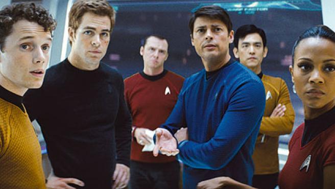 El nuevo reparto de 'Star Trek'.