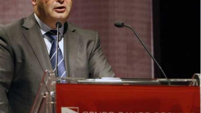 Ángel Ron, presidente del Banco Popular.