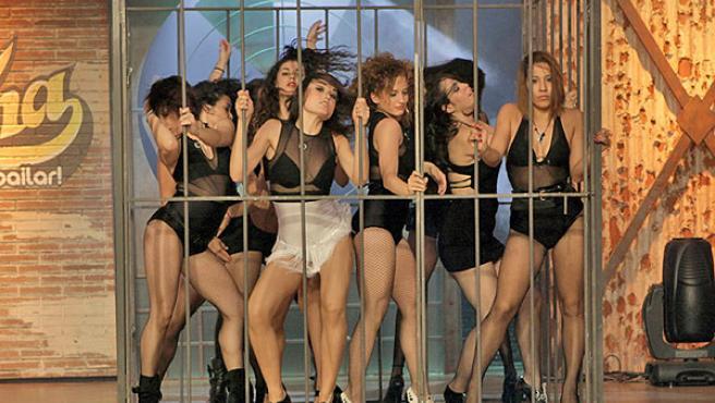 Una coreografía de 'Fama, ¡a bailar!'