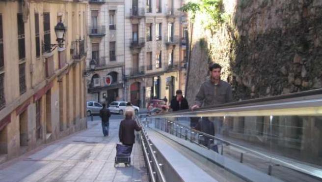 Bilbao comenzó a instalar escaleras y rampas eléctricas en la vía pública hace casi una década.