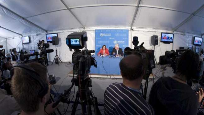 La directora de la Organización Mundial de la Salud (OMS) para la Investigación de Vacunas, Marie-Paule Kieny.