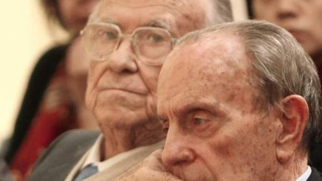 Santiago Carrillo y Manuel Fraga, en una imagen de archivo.