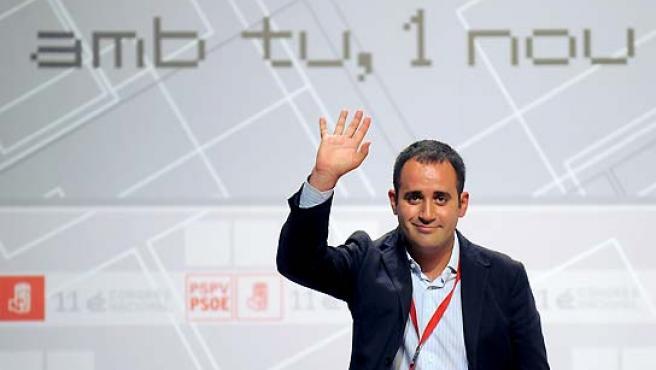 El nuevo secretario general del PSPV-PSOE, Jorge Alarte.