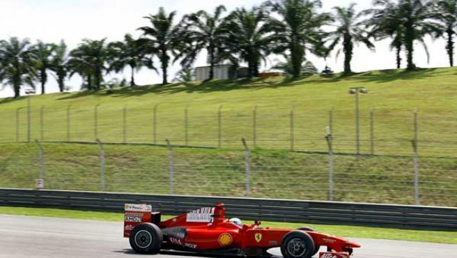 Felipe Massa, en Sepang.