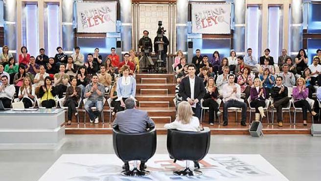 Una imagen del programa 'De Buena Ley'.