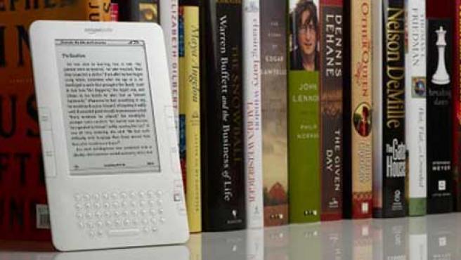 Libro electrónico Kindle 2, de Amazon.