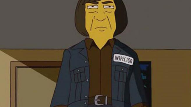 Bardem, personaje de 'Los Simpsons'.