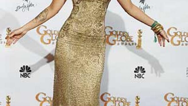 Megan Fox posa en un acto promocional.