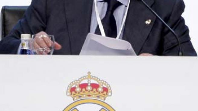 Vicente Boluda, presidente del Real Madrid.