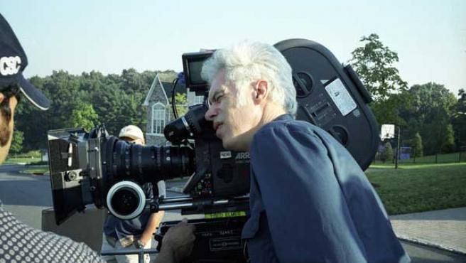 Jim Jarmusch durante un rodaje.