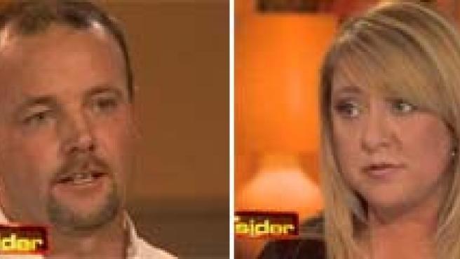 John y Lorena Bobbit, en el momento del incidente y en la actualidad.