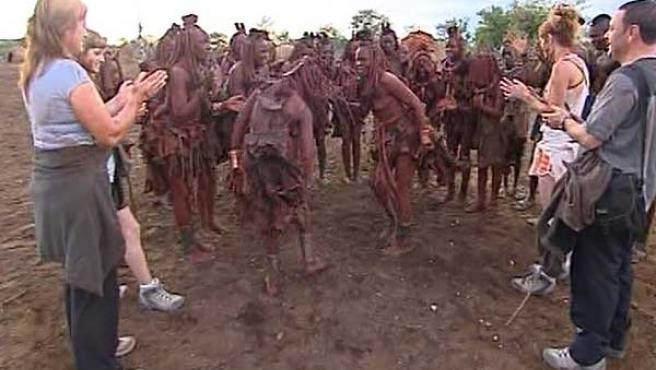 Una escena de 'Perdidos en la tribu'.