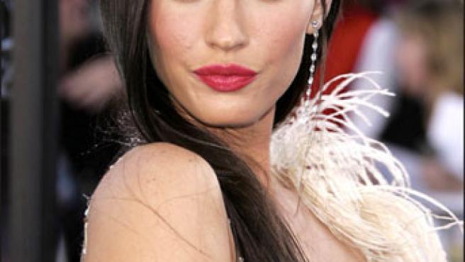 Megan Fox, muy sensual.