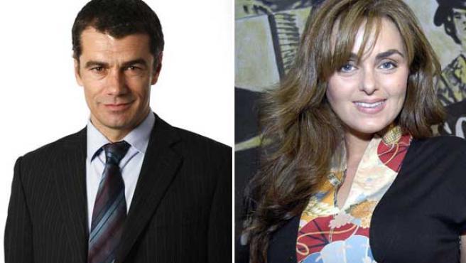 Toni Cantó y Carmen Morales en la nueva serie que prepara Telecinco.