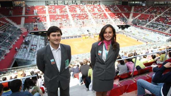 Una instantánea de Miguel Calpe y Mariana de Ugarte.