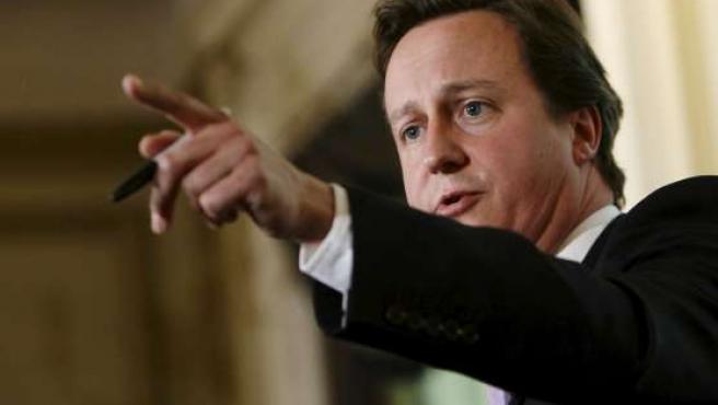 David Cameron, líder del Partido Conservador.
